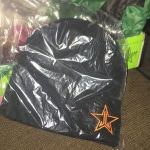 Jeffree Star Black Halloween Beanie